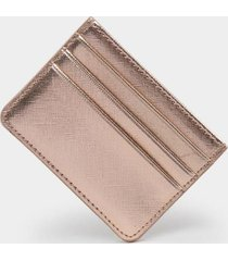 kelly card case - rose/gold