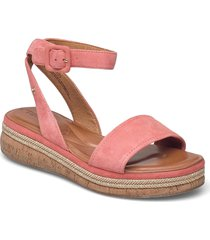 woms sandals sandaletter expadrilles låga rosa tamaris