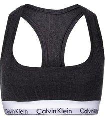 calvin klein modern cotton bralette rib knit * gratis verzending * * actie *