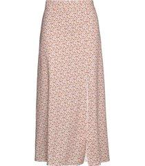 ora skirt knälång kjol rosa notes du nord