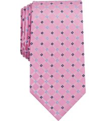 club room men's linked neat tie, created for macy's
