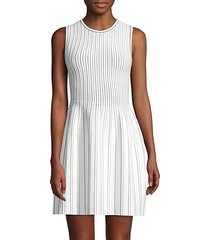 ribbed sleeveless dress