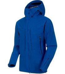 chaqueta masao hs hooded azul mammut