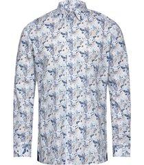 8571 - gordon sc skjorta casual blå xo shirtmaker by sand copenhagen