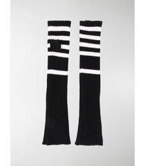 plan c striped arm warmers