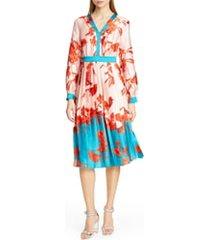 women's ted baker london karolyn fantasia midi dress