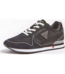 sneakersy z zamszowymi wstawkami model glorym (35-38)
