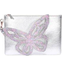 sophia webster flossy butterfly pouch