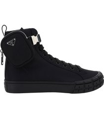 scarpe sneakers uomo in pelle high top sneakers