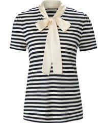 shirt korte mouwen en maritieme strepen van uta raasch blauw