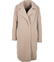 gipsy lyndi teddy coat light taupe