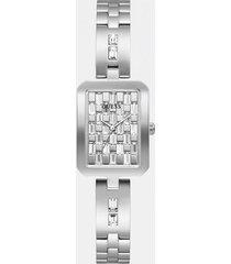 analogowy zegarek z kryształami