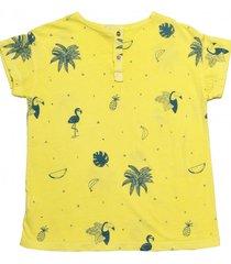 t-shirt chico yellow