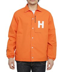 junya watanabe orange helevetica jacket