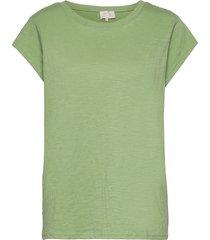 leti tee t-shirts & tops short-sleeved grön minus