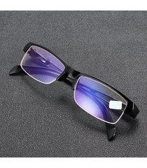 miopia occhiali mezzo fotogramma ottico trasparente per miopia occhiali occhio salute cura da -100 a -400
