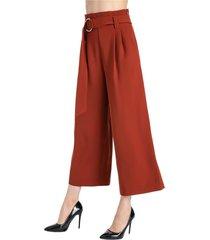 pantalón culotte cinturón óxido nicopoly