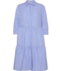dalina dress knälång klänning blå minus