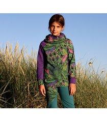 bluza dla dziewczynki - pawie pióra