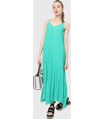 vestido azul aguamarina  paris district