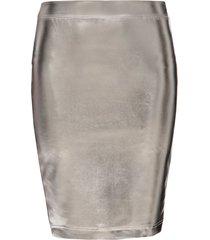 spódnica srebrna