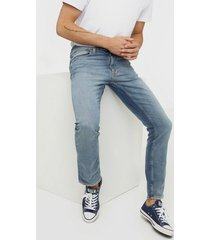 nudie jeans lean dean broken sage jeans denim