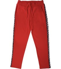 hugo dusten track pants - red 50401777