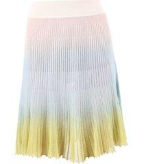 jacquemus flared skirt