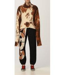 gcds sweater gcds sweater in cow mohair blend