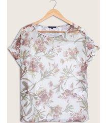blusa floral-m