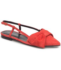 enise ballerinaskor ballerinas röd custommade