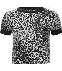 camiseta tiras tejidas color gris, talla 12