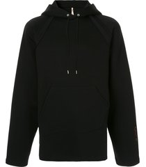oamc relaxed fit hoodie - black