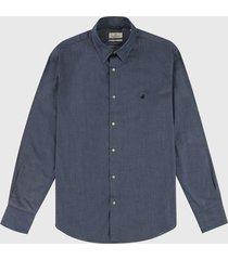 camisa azul oscuro brooksfield