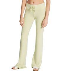 women's wildfox tennis club fleece pants, size x-small - green