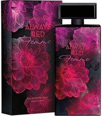 perfume always red femme feminino elizabeth arden edt