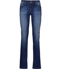 jeans elasticizzati con t400 straight premium (blu) - john baner jeanswear