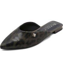 slipper negro-gris ramarim