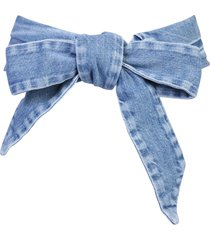 soft belt with bow