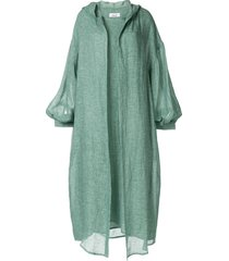 bambah marrakesh isabella kaftan and dress - green