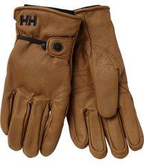 men's helly hansen vor leather gloves