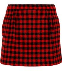 valentino red bermuda shorts
