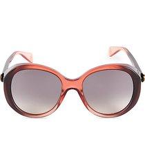 55mm round shield sunglasses