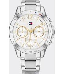 tommy hilfiger women's stainless steel bracelet watch silver -