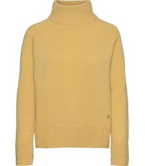 christelle knit turtleneck polotröja gul morris lady