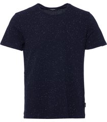 calvin klein true navy janeps heathered jersey t-shirt k10k101221