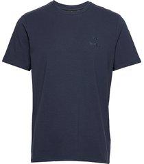 hmlsigge t-shirt s/s t-shirts short-sleeved blå hummel