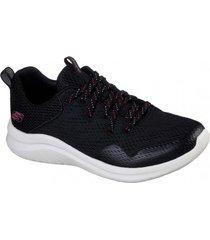 zapatos ultra flex 2.0 - higher limit negro skechers