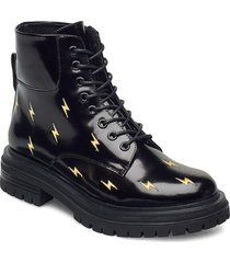 stb-franka bolt l shoes boots ankle boots ankle boot - flat svart shoe the bear