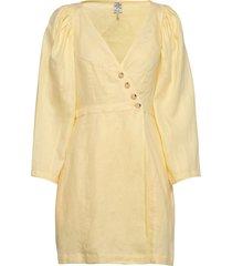 abrial korte jurk geel baum und pferdgarten